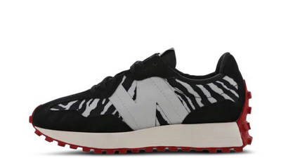 New Balance 327 Animal Print Black