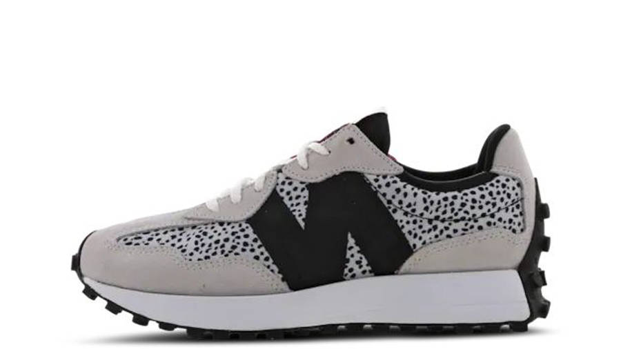 New Balance 327 Animal Print Grey Black