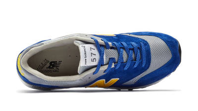 New Balance 577 Made in England Blue Yellow Middle