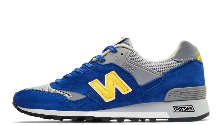 New Balance 577 Made in England Blue Yellow