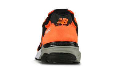 New Balance 920 Made In England Orange Black Back