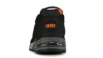 New Balance 991 Made In England Black Orange Back