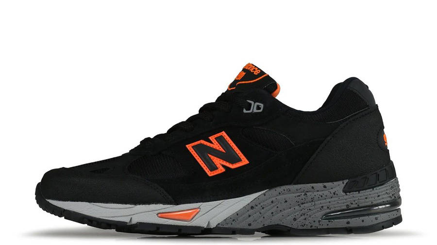 New Balance 991 Made In England Black Orange