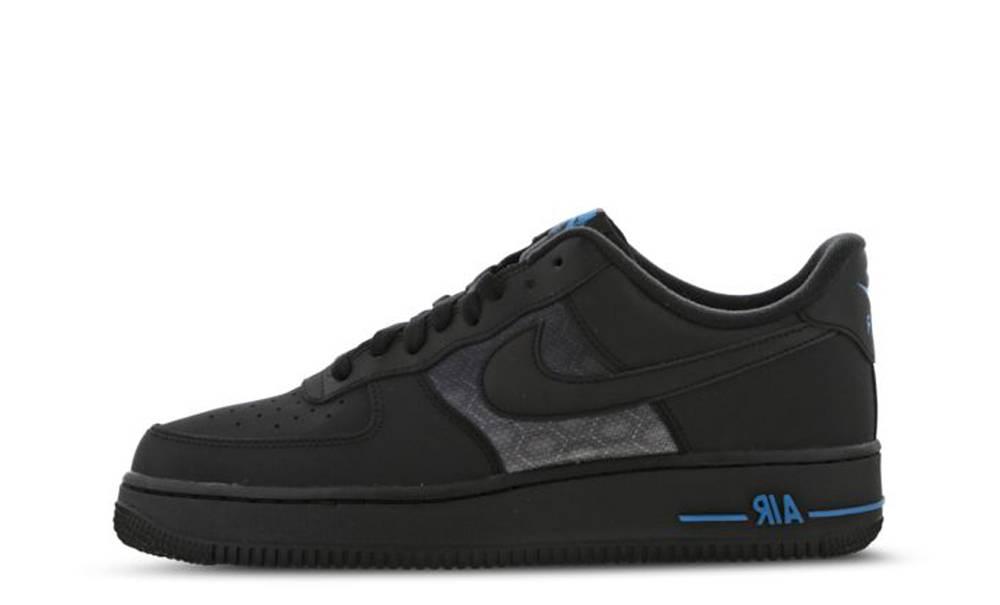 Nike Air Force 1 07 LV8 Black Blue