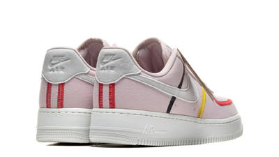 Nike Air Force 1 LX Siltstone Red Womens Back