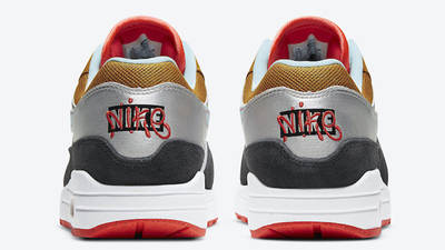 Nike Air Max 1 Graffiti Logo Back