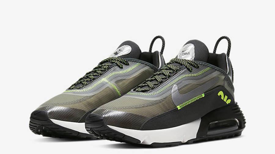 Nike Air Max 2090 3M Grey Volt Front