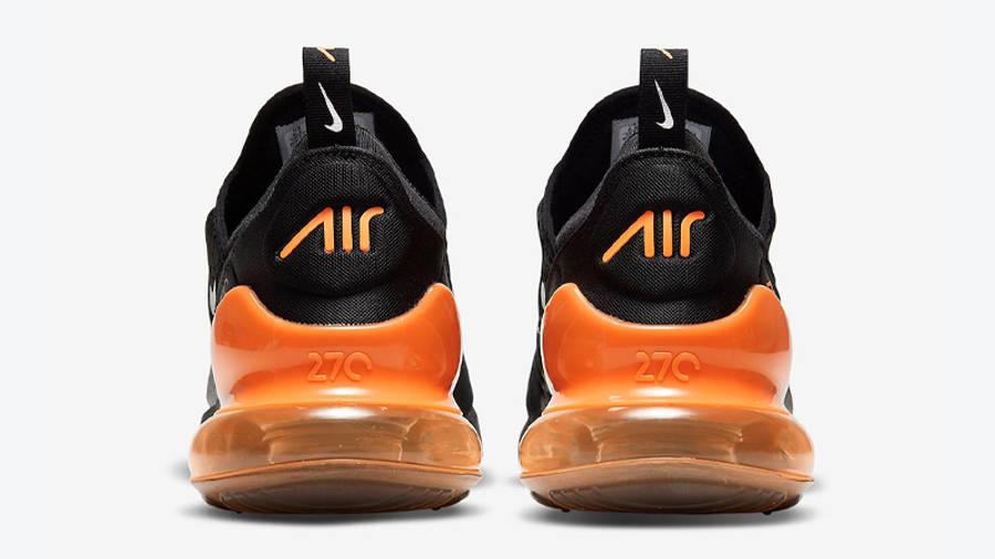 Nike Air Max 270 Halloween Black Orange Back