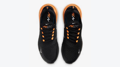Nike Air Max 270 Halloween Black Orange Middle