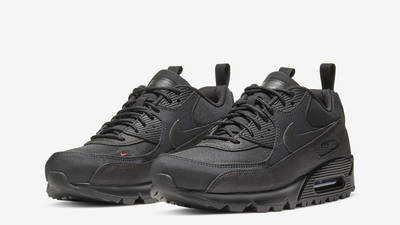 Nike Air Max 90 Surplus Black Infrared Front