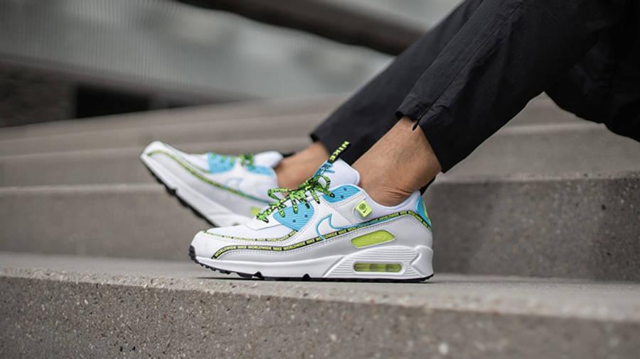Nike Air Max 90 Worldwide White Volt | Where To Buy | CZ6419-100 ...