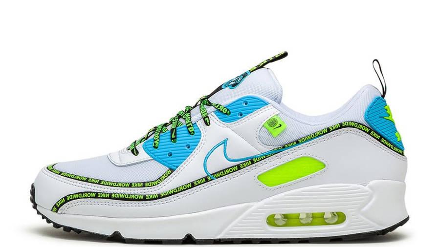 División Agacharse protesta  Nike Air Max 90 Worldwide White Volt   Where To Buy   CZ6419-100   The Sole  Supplier