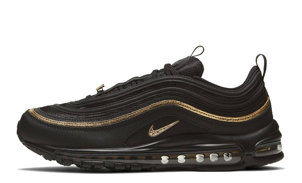 Catedral bruscamente medio  Nike Air Max 97 Black Metallic Gold | Where To Buy | DC2190-001 | The Sole  Supplier