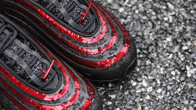 Nike Air Max 97 Black Sequin Lifestyle Top