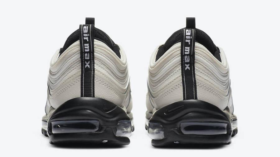 Nike Air Max 97 Light Bone Black Back