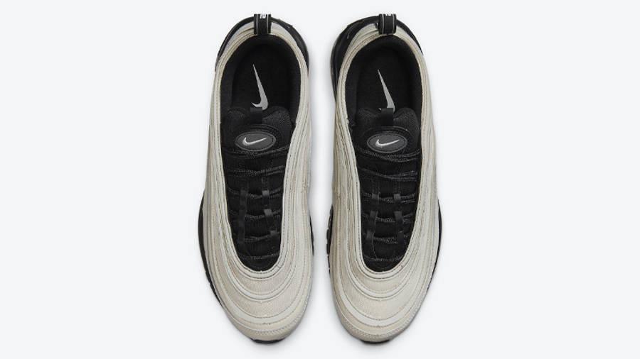 Nike Air Max 97 Light Bone Black Middle