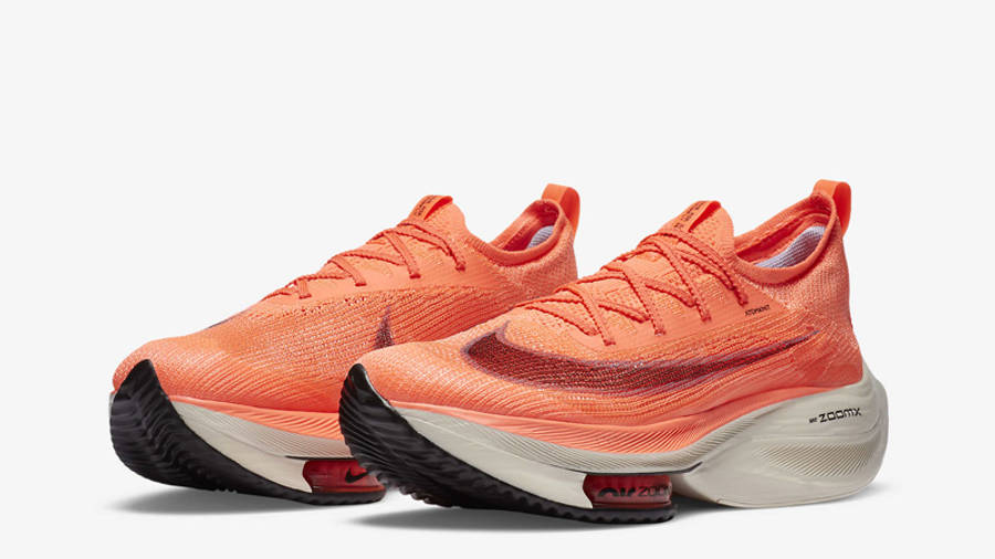 Nike Air Zoom Alphafly NEXT% Bright Mango Front