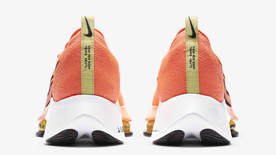 Nike Air Zoom Tempo NEXT% Bright Mango Back