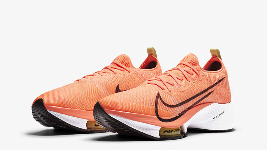 Nike Air Zoom Tempo NEXT% Bright Mango Front