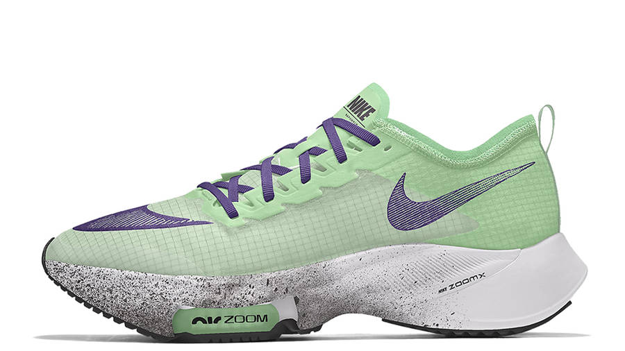 Nike Air Zoom Tempo NEXT% By You Green Multi
