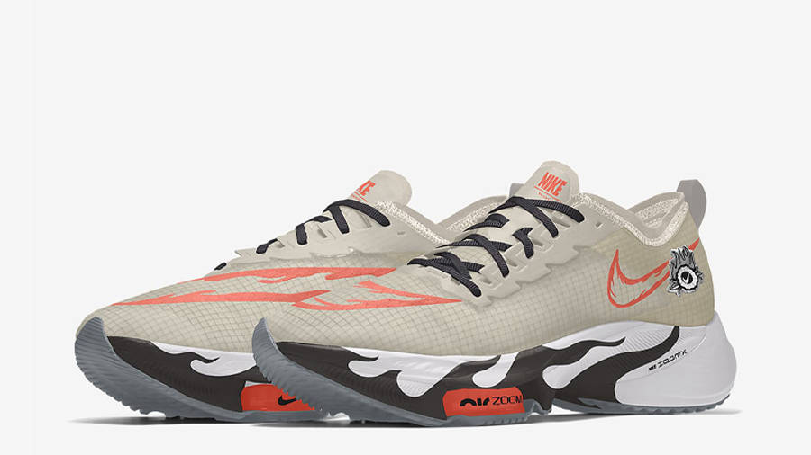 Nike Air Zoom Tempo NEXT% By You Tan Multi Front