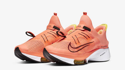 Nike Air Zoom Tempo Next% FlyEase Bright Mango Front