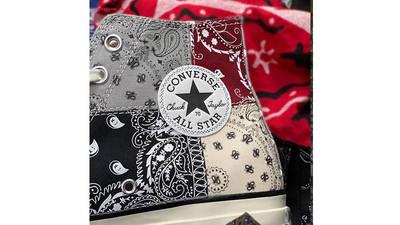 Offspring x Converse All Star Hi 70s Paisley logo