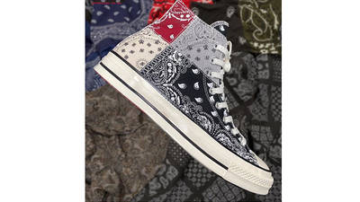 Offspring x Converse All Star Hi 70s Paisley side
