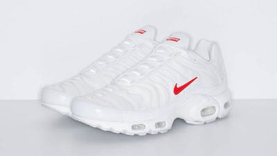 Supreme x Nike TN Air Max Plus White front