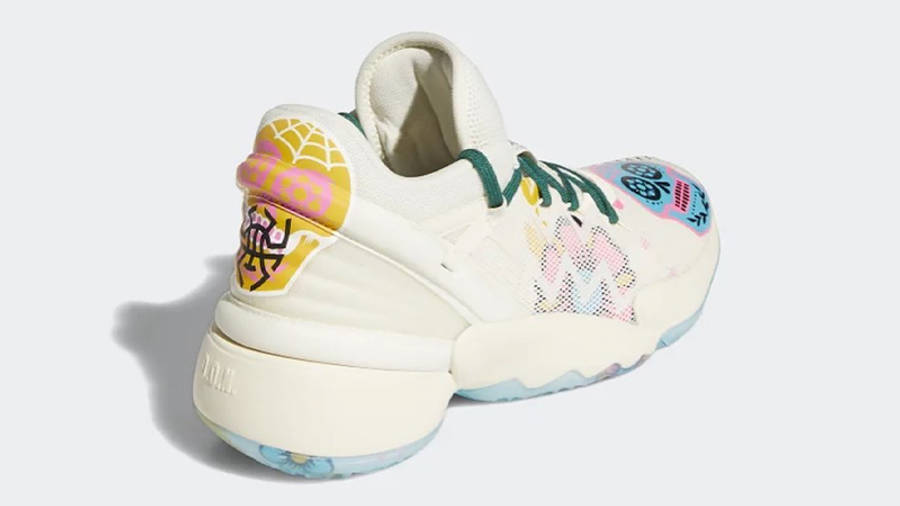 adidas D.O.N. Issue #2 Day of the Dead Back