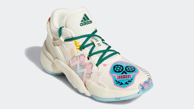 adidas D.O.N. Issue #2 Day of the Dead Front