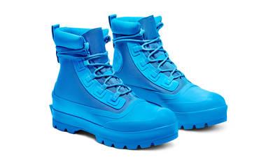AMBUSH x Converse Chuck Taylor All Star Duck Boot Blue Front
