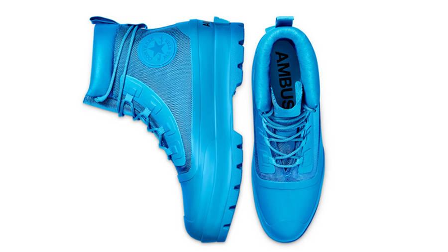 AMBUSH x Converse Chuck Taylor All Star Duck Boot Blue Middle