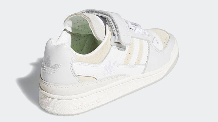 Beyonce Ivy Park x adidas Forum Low White Pink Back