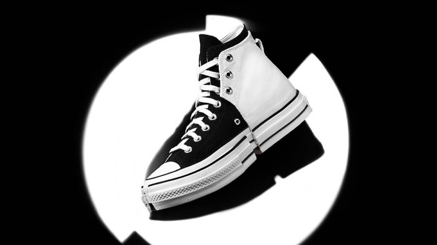 Feng Chen Wang x Converse Chuck 70 2-in-1 High Top Ivory Black Lifestyle
