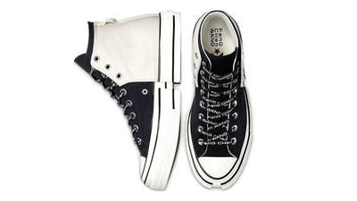 Feng Chen Wang x Converse Chuck 70 2-in-1 High Top Ivory Black Middle