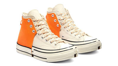 Feng Chen Wang x Converse Chuck 70 High 2-in-1 Persimmon Orange Front