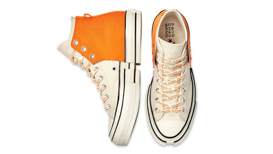 Feng Chen Wang x Converse Chuck 70 High 2-in-1 Persimmon Orange Middle
