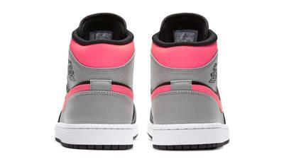 Jordan 1 Mid Pink Shadow Back