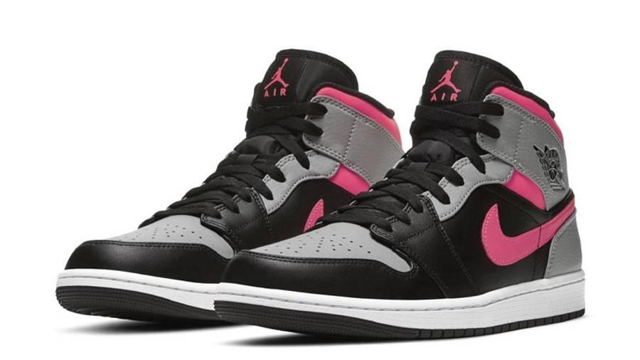 Jordan 1 Mid Pink Shadow Front