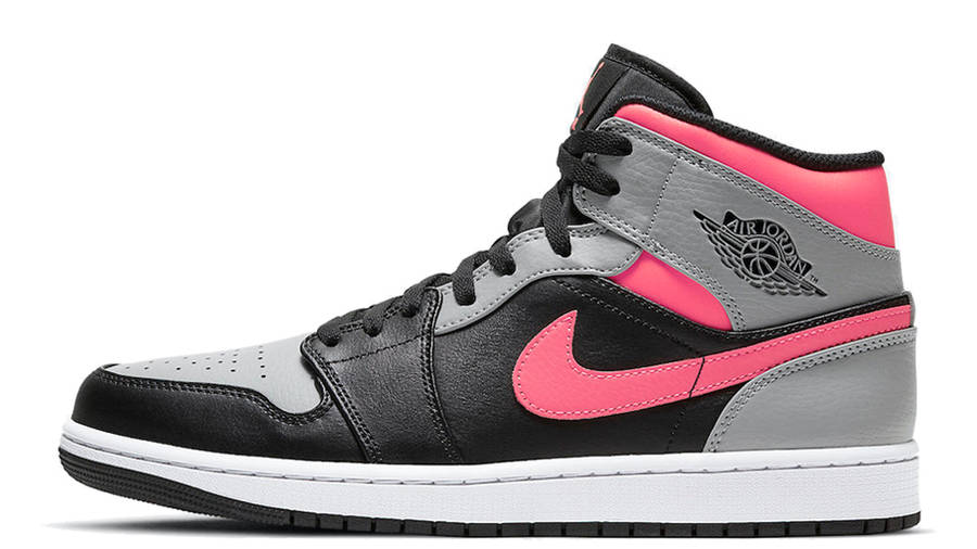 Jordan 1 Mid Pink Shadow | Where To Buy | 554724-059 | The ...