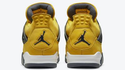 Jordan 4 Lightning back
