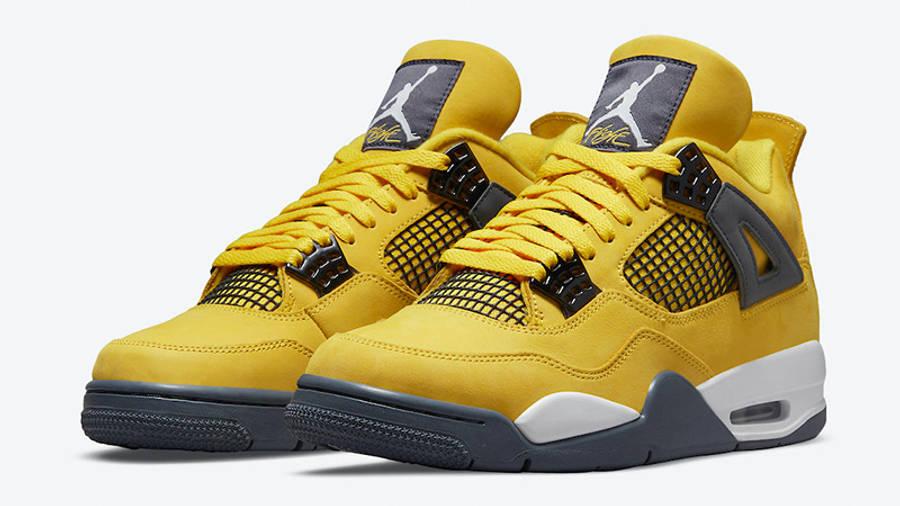 Jordan 4 Lightning front
