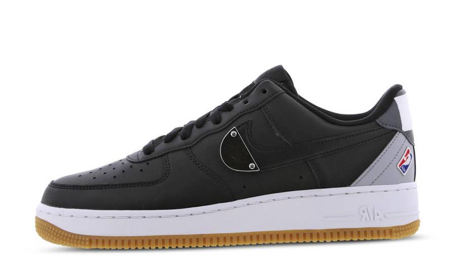 NBA x Nike Air Force 1 07 LV8 Black   Where To Buy   CT2298-001 ...