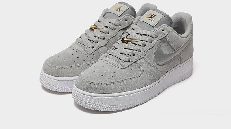 Nike Air Force 1 07 Grey Suede | Where