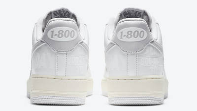 Nike Air Force 1 Low Toll Free White Back