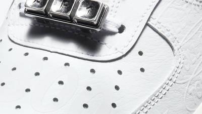 Nike Air Force 1 Low Toll Free White Closeup