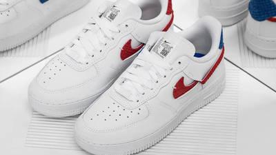 Nike Air Force 1 LXX Snakeskin White Red Lifestyle