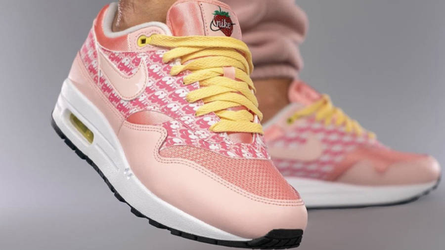 Nike Air Max 1 Strawberry Lemonade On Foot Front