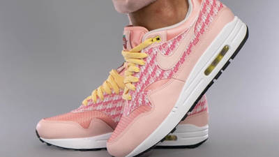 Nike Air Max 1 Strawberry Lemonade On Foot Side